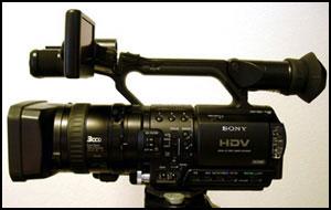 The Sony HVR-Z1U