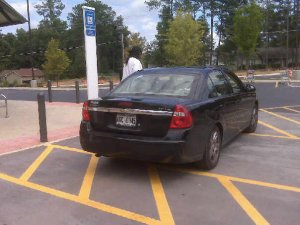 Poor parking in Douglasville, GA 09.23.09