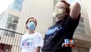 Jerry's kids:  Emory's H1N1 dorm.