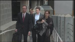 Joseph Dell with Andrea Sneiderman.  From 11Alive.com