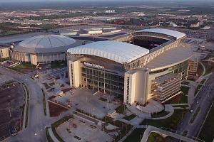 The Astrodome is the giant relic next to Reliant Stadium, where the Houston Texans play football.