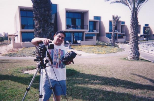 Eddie Cortes at Kuwait Hilton