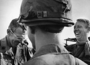 Gen. Galvin (left) from Life Magazine