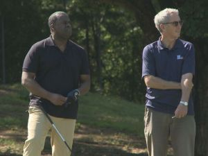Mayor Kasim Reed with a lousy golfer and a terrible person
