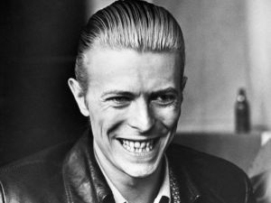 David Bowie thinks about his hair and other influences